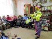 Встреча с коллективом цирковой студии детского дома творчества